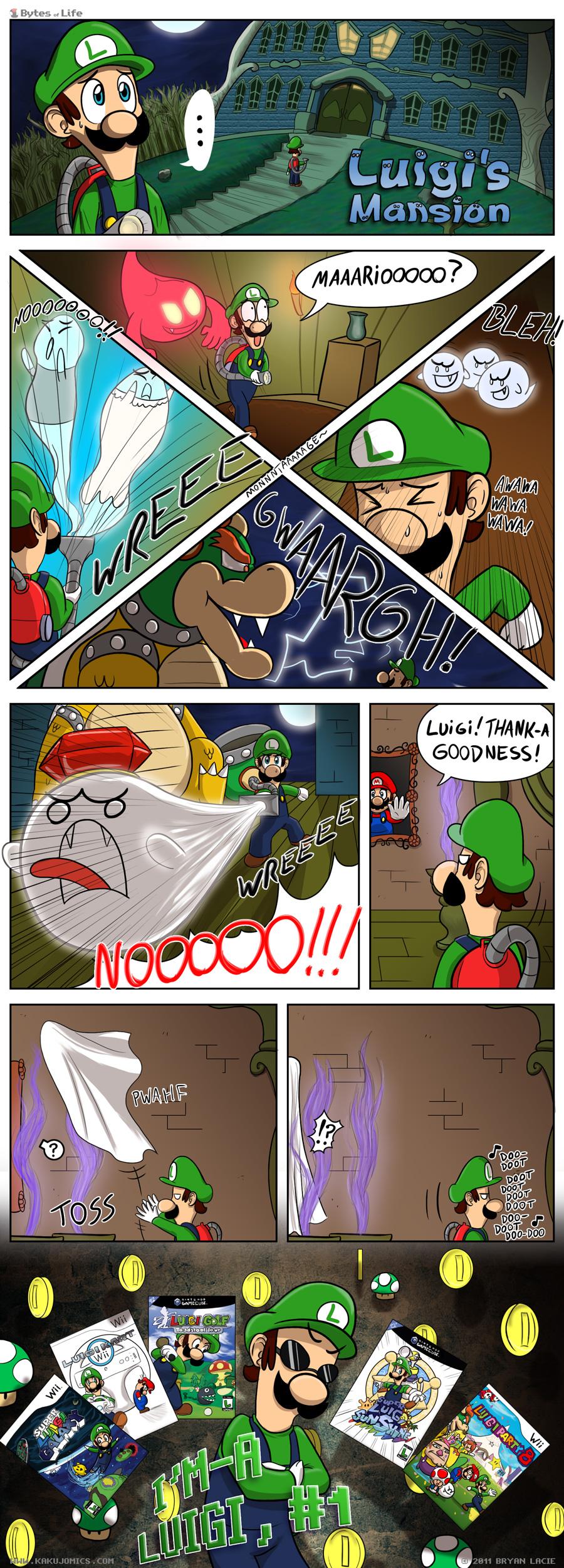 Represent, Luigi, represent...