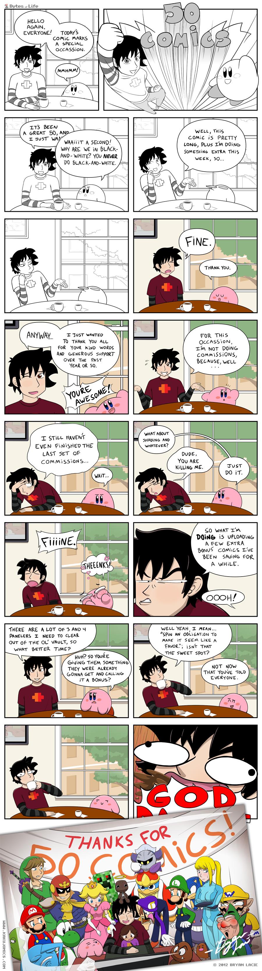 Don't be lazy, Kakujo.