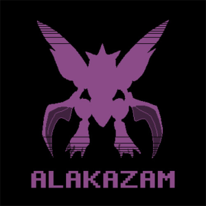 KakuJomics' Alakazam Shirt at Shark Robot!