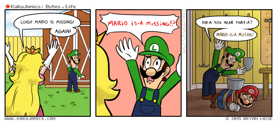 It's once again Luigi's job to shed some light on his brother's whereabouts!