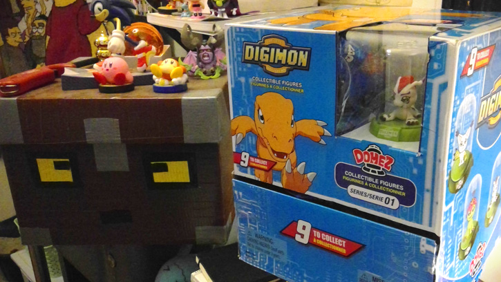 Kakujo's Big-ol-Box of Digimon Domez. I WANT TO OPEN THEM